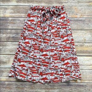 Porridge Midi Skirt from Anthropologie